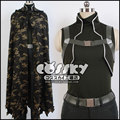 Меч искусство / Gun гейл онлайн смерть пистолет Sterben косплей-костюмы пальто / мантия / маска сао для мужчины / женщины