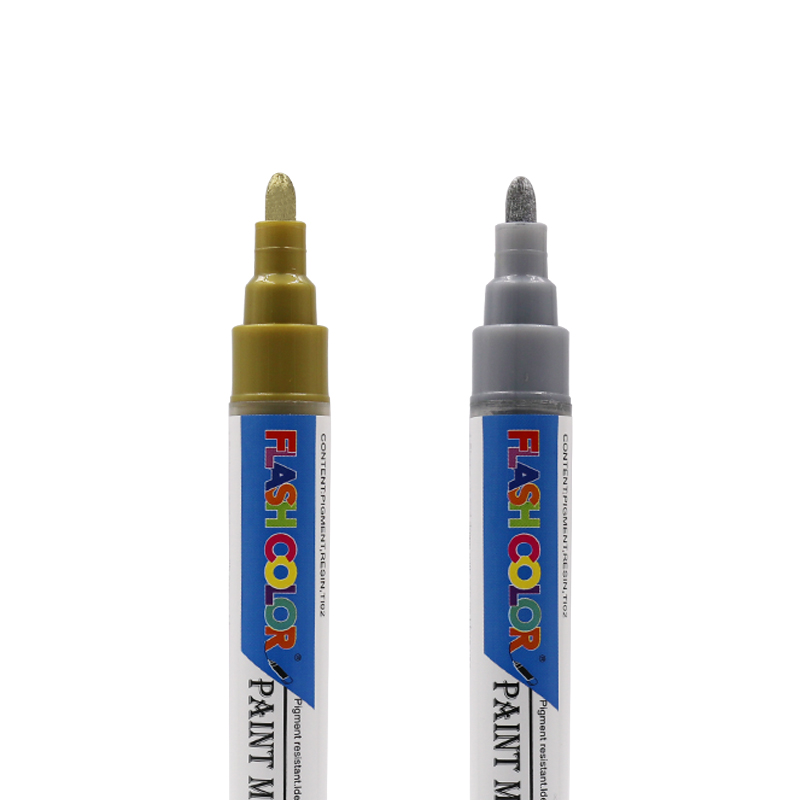 oil based paint markers ASTM D 4236 and EN71 Artist quality 19 colors in Marker Pens from Office School Supplies