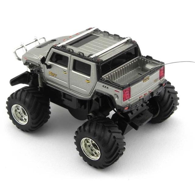 New Great Wall Mini Carro RC Off Road Veículo Cross Country Velocidade Humvees Hummer Brinquedos de Controle Remoto Traxxas Natal 2207