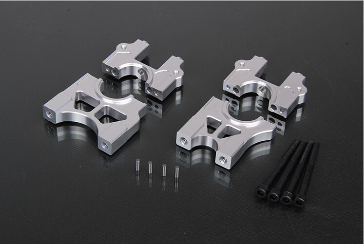 Support de fixation rapide en métal de CNC kit de support de support fendu différentiel pour 1/5 rovan LT losi 5ive-T 5 T