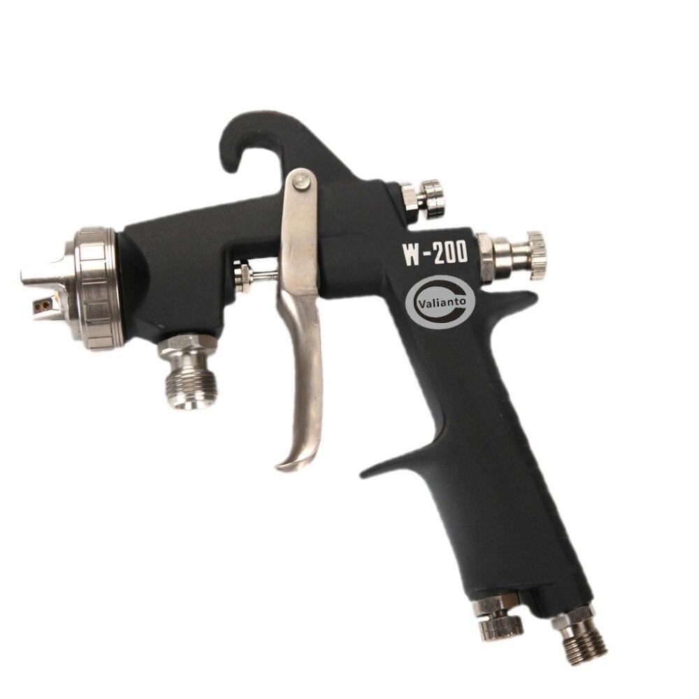 цена на Pressure Feed Air Spray Gun Professional HVLP Spray Gun Mini Air Paint Spray Guns Airbrush for Furniture