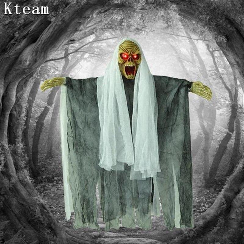 Utilería para decoraciones de Halloween DIY, casa embrujada, Reaper, fantasma, bruja, fantasma - 2