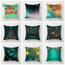Fuwatacchi Christmas Style Cushion Cover Green Snowman Deer Gift Pillow Cover Home Car Sofa Polyester Decorative Pillowcase душевая кабина timo 902l