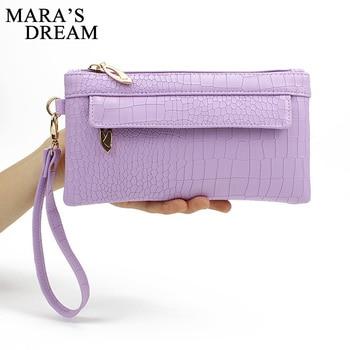 Mara's Dream Candy Color PU Leather Women Bag Day Clutches Women Envelope Bag Clutch Evening Bag Female Handbag Wristlets Bags