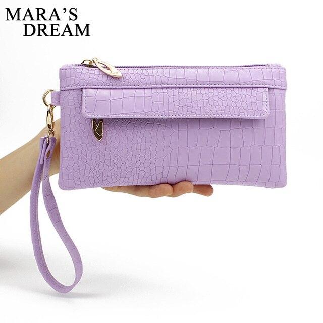 Mara's Dream Candy Color PU Leather Women Bag Day Clutches Women Envelope Bag Clutch Evening Bag Female Handbag Wristlets Bags 1