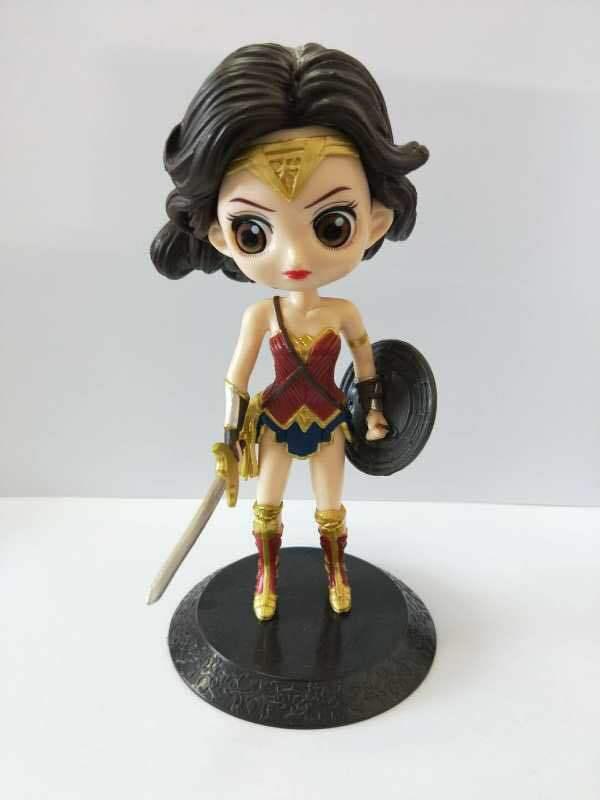 DC фильм wonder woman фигурку 15 см кукла аниме ПВХ фигурку игрушки Коллекционная модель игрушки вечерние поставки figura