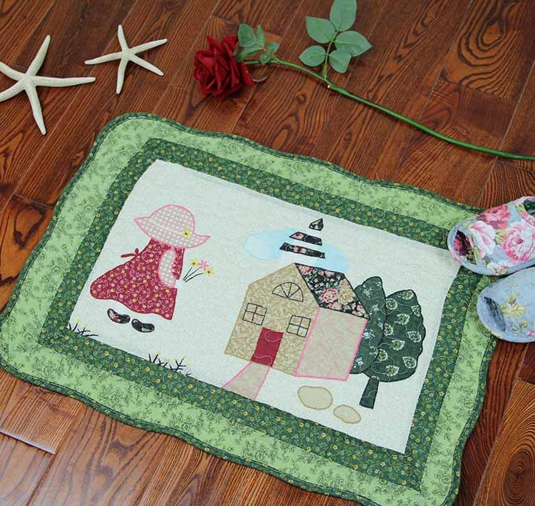 New Hot Sale Fashion Wholesale 4060cm Quilting Cotton Living Room Carpet Mats Baby Crawling