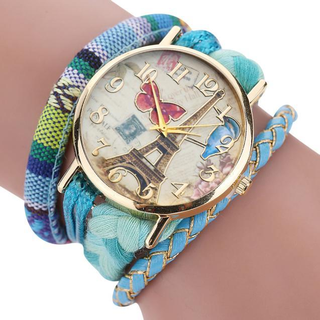 ladies designer watches luxury watch women 2016 The Sleek Stylish Chic Knit Bracelet Watch Ladies Decorative Relogio Feminino