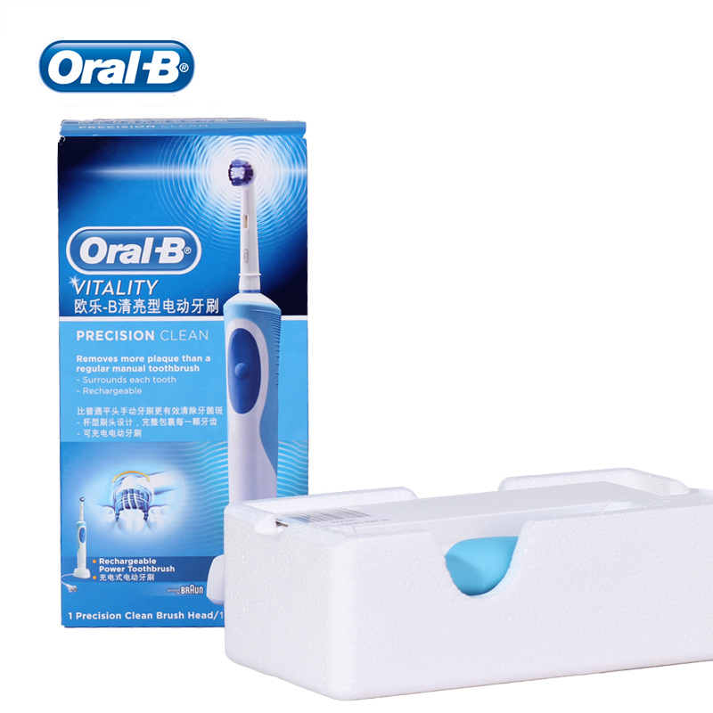 Oral B Sonic Electric Toothbrush Rotating Vitality D12013 Rechargeable Teeth Brush Oral Hygiene Toothbrush Heads