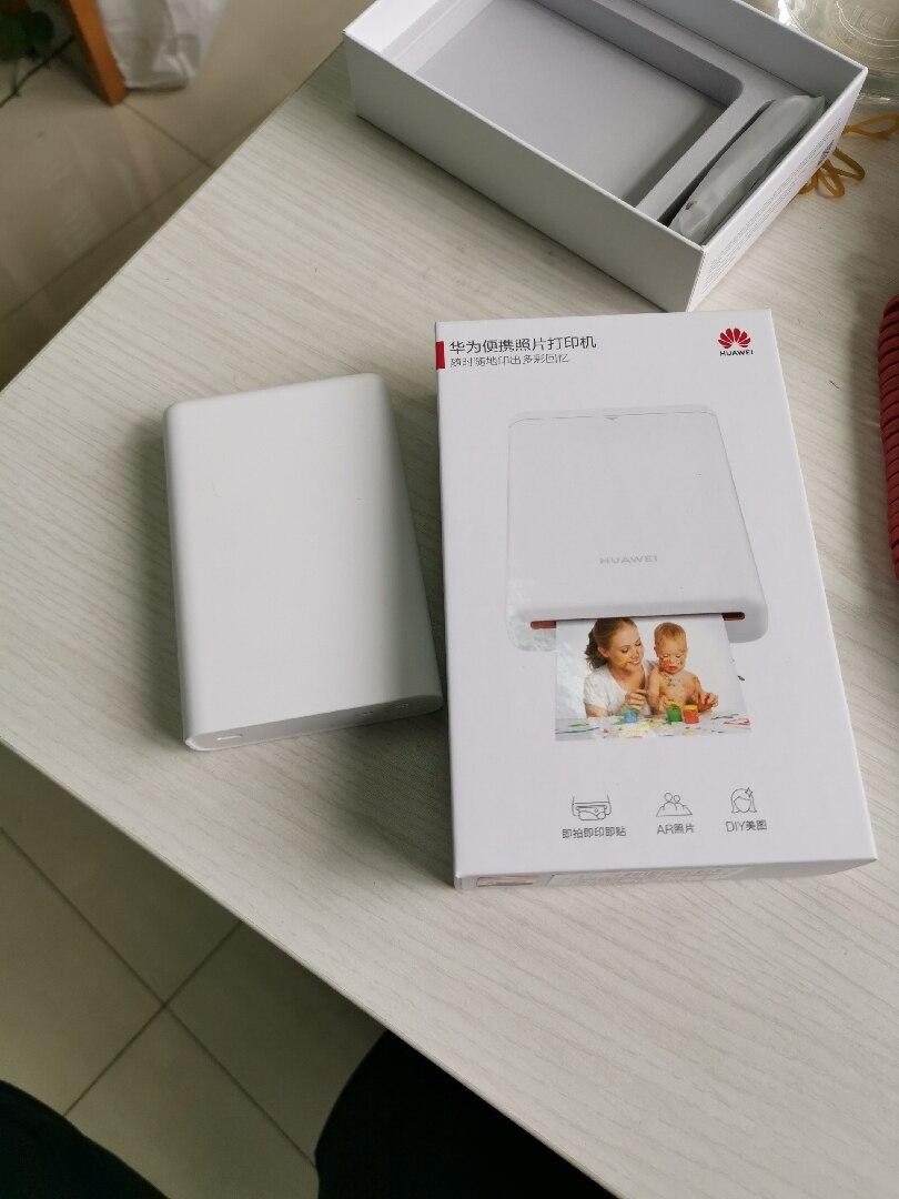Original Huawei Zink Pocket Photo Printer AR Pocket Printer 300dpi Portable Mini Printers Bluetooth 4.1 Support DIY Share 500mAh (6)