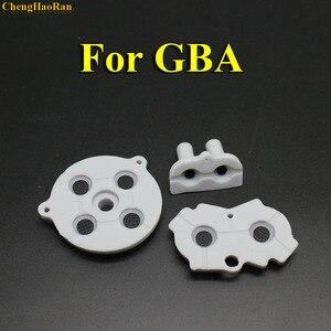 Image 4 - 30 100 مجموعات جديدة ل GBA المطاط موصل لاصق أزرار الوسادة لعبة بوي الكلاسيكية GBA سيليكون بدء اختيار لوحة المفاتيح