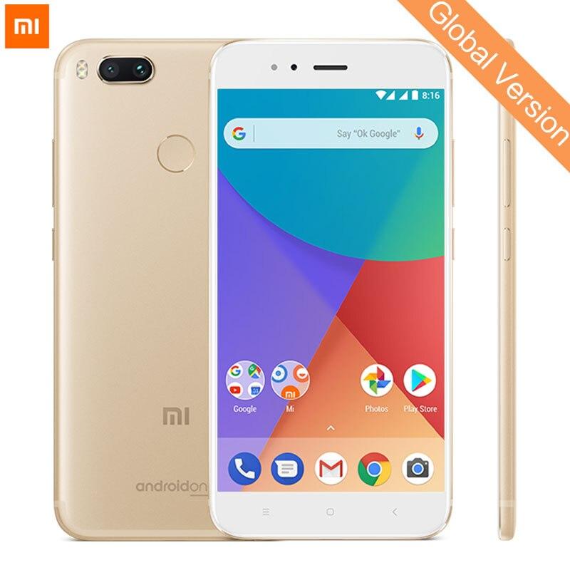 Globale Versione Xiao mi mi A1 4 GB 64 gb smartphone snapdragon 625 Octa core 5.5