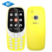 2017 NEW Original Nokia 3310 TA 1030 2 4 Inch Screen 2MP Mobile Phone GSM 1200mAh