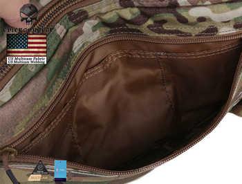 Emersongear Tatcical Bag Military Bag Chest Recon Bag Emerson Chest Rig Molle Nylon Waist Bag Combat Gear EM9285 Multicam