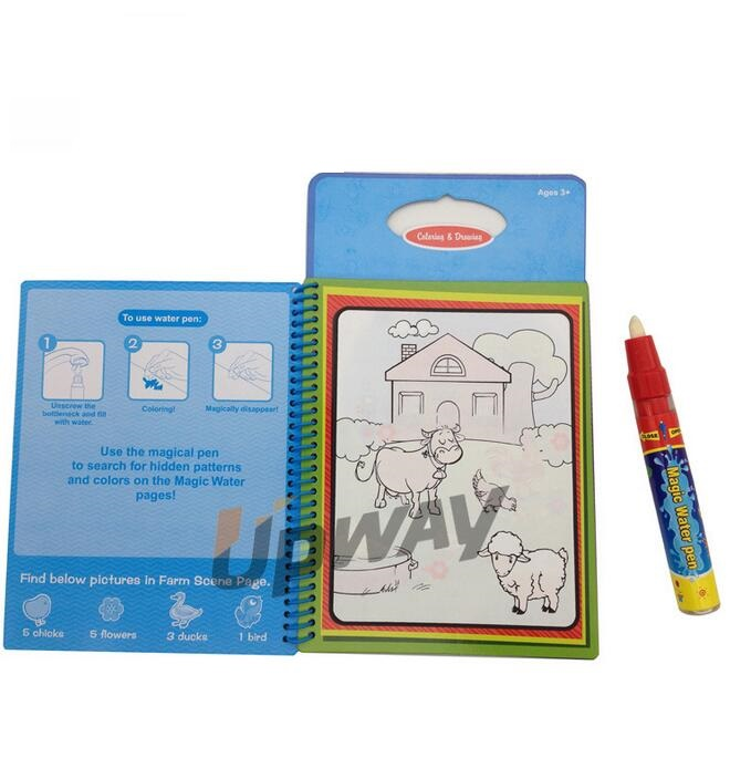 Online Shop Coloring Book Kids Animals Painting Magic Water Drawing Doodle For Gifts Ed 004