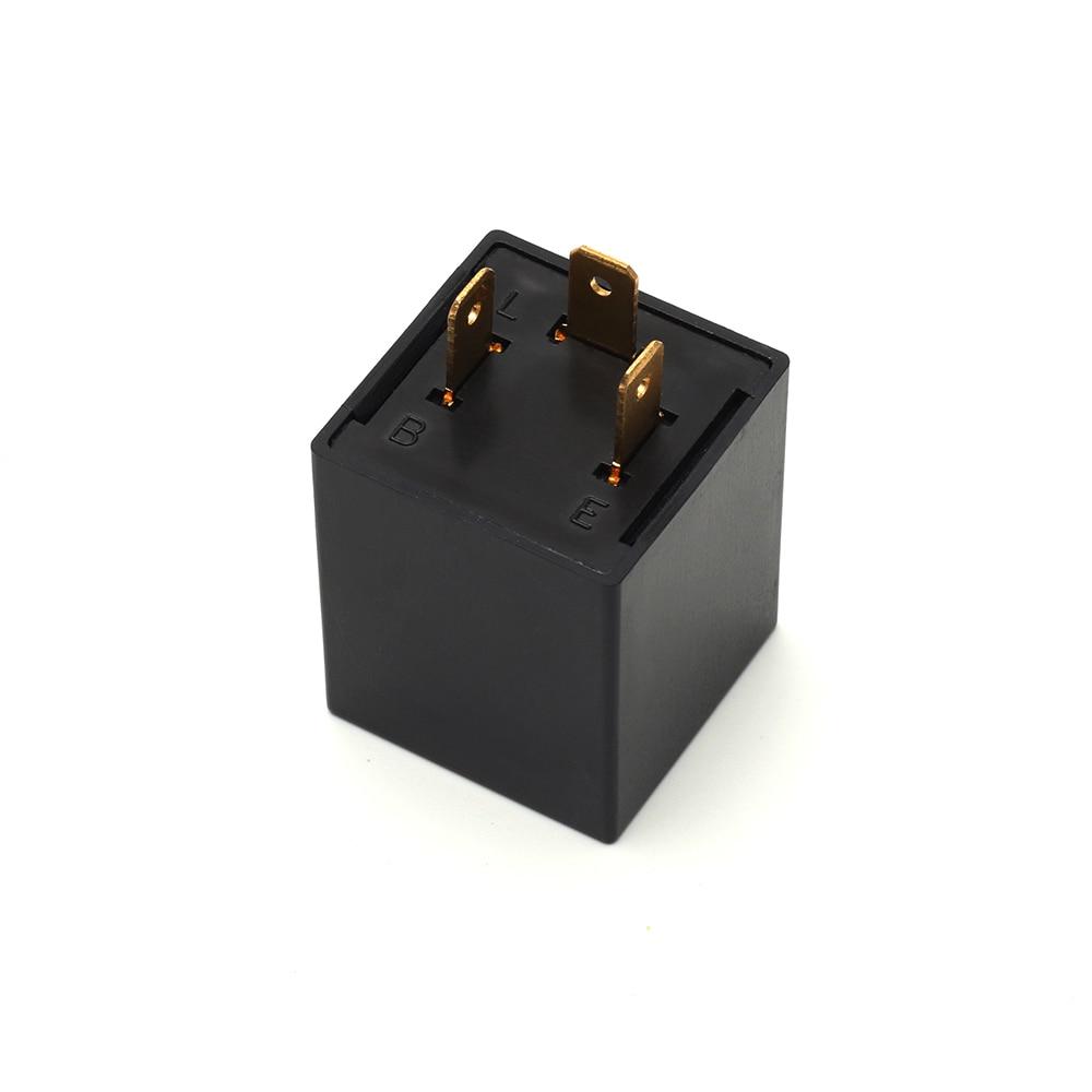 12V 3Pin Square LED Adjustable Car Load Resistor Electronic Flasher Relay Fix LED Light For Turn Signal Light CF13 JL-02