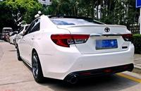 Primer unpainted ABS sports Car Rear bumper diffuser For TOYOTA Mark X/REIZ 2010 2016