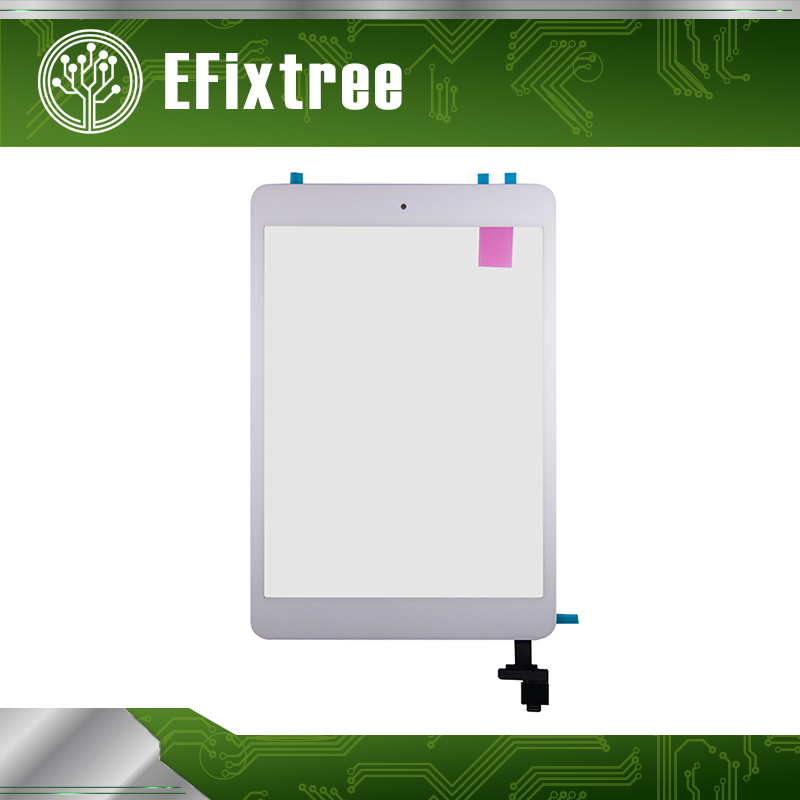 Grade A New Touch Panel Assembly For iPad mini 2 A1489 A1490 Digitizer LCD Front Glass Panel Black White 100% tested genuine new white black 7 9 digitizer front glass lcd panel for ipad mini 1 2 touch screen replacement repair part