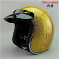 free shipping Sports helmetThe export of glass steel half genuine motorcycle Harley half helmet helmet retro Cruise