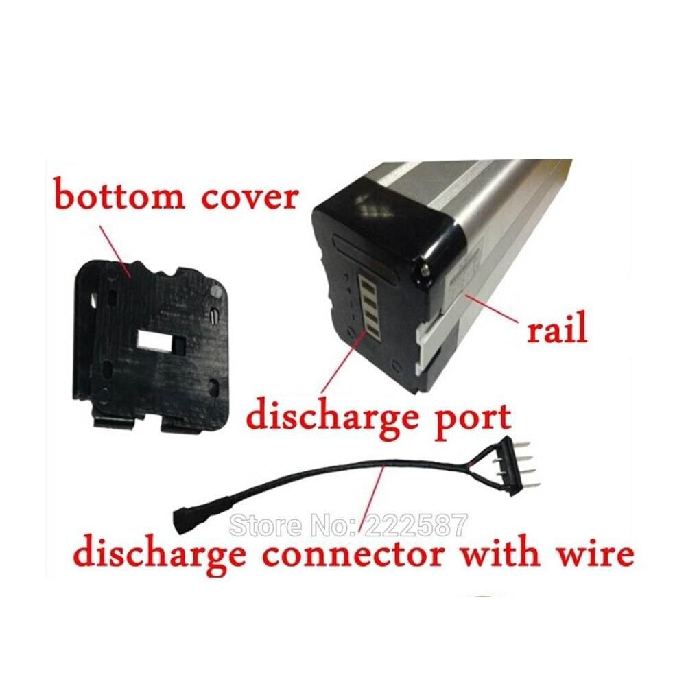 Discharge wire connector for 12V 36V 48V 24V ebike electric bike bicycle battery