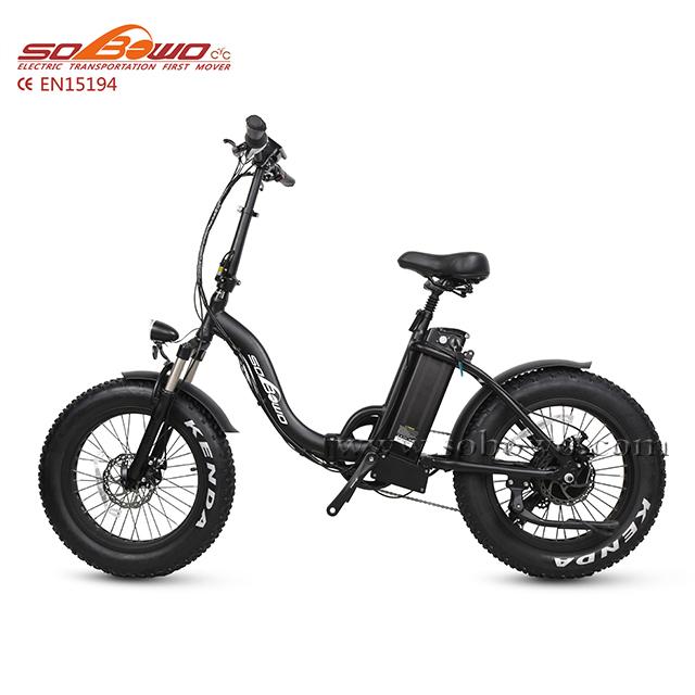 2019 Sobowo SF2 best selling beach cruiser electric bicycle