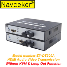 2019 HDMI Audio and Video Optical Fiber Extender Transceiver USB 2.0 KVM & Loop Out HDMI Fiber Optic Converter Fiber 20 KM SC 1ch rs485 data digital video optical converter fiber optic video optical transmitter and receiver multiplexer