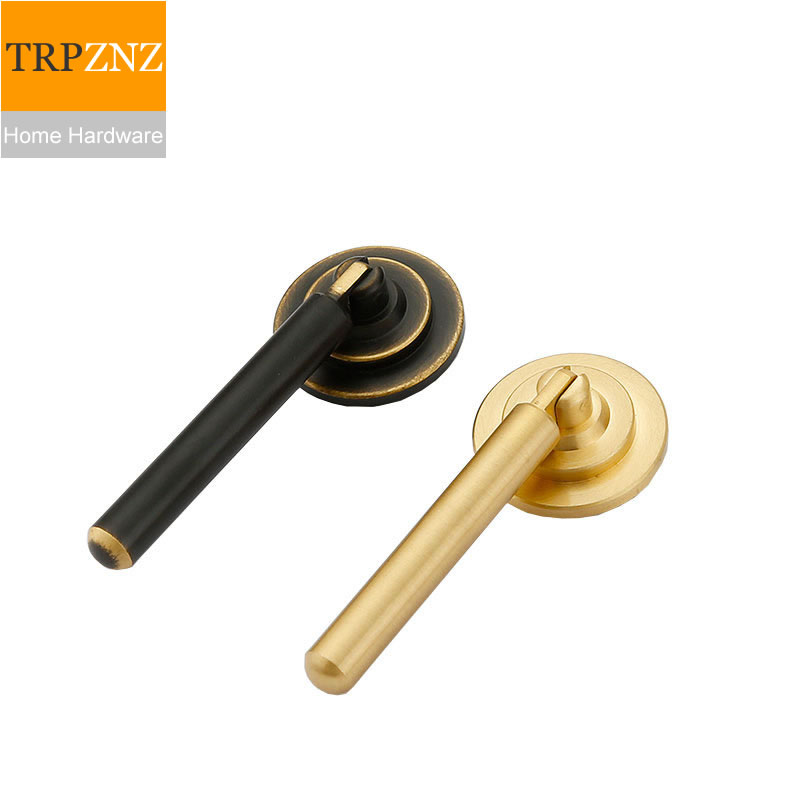 chinese Styledrawer Handle,pure Copper,solid Thickening,for Desk Drawer Shoe Ark Wardrobe,hot Sales Clearance Price Hardware Well-Educated Factory Outlets Cabinet Pulls