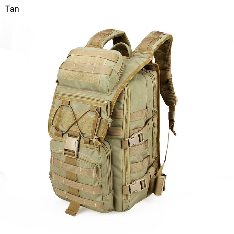 Outdoor Bags Tactical Backpack 1000D Nylon Waterproof Fabric Unisex For Camping  Hiking Hunting gs5-0063 fire maple sw28888 outdoor tactical motorcycling wild game abs helmet khaki