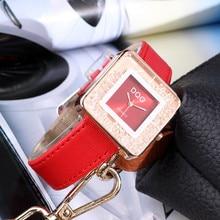 Fashion Luxury Brand Rolling Drill Dress Women Watches Quicksand Casual Clock Genuine Leather Rhinestone Lady Wrist