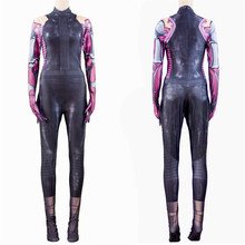 Movie Alita: Battle Angel Cosplay Costume Women kids 3D Print Jumpsuits Bodysuit  Event Party Suit Kids Adult Halloween Costumes