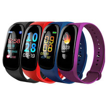 M5 Intelligente Del Braccialetto di Sport di Fitness Tracker Heart Rate Monitor Sanguigna Chiamata di Promemoria Impermeabile Banda Intelligente VS M3S Wristband Smartwatch(China)