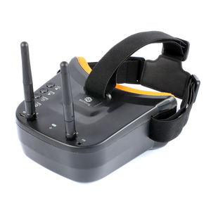 Image 2 - BGNing FPV Goggles 3 inch 480 x 320 Display Double Antenna 5.8G 40CH Built in 3.7V 1200mAh Battery for Racing Drone