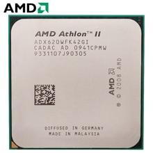 AMD Athlon II X4 620 CPU Штепсель AM3 95 W 2,6 GHz 938-pin четырехъядерный настольный процессор CPU X4 620 разъем am3
