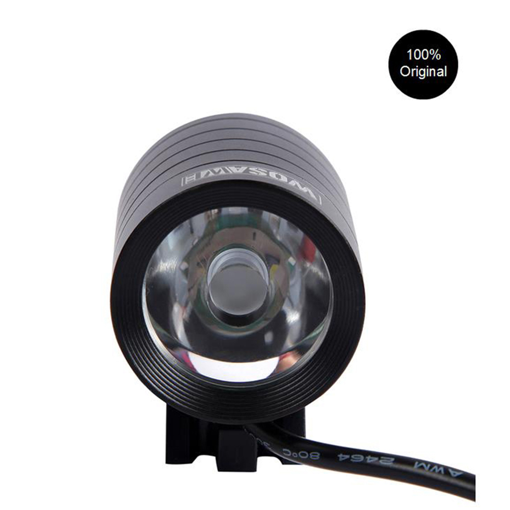 1200 Lumen XMK T6 Bicycle Lights Lamp Waterproof LED Cycling Bike Bicycle Front Light Flashlight with USB + DV Cable