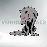 Car Styling Vinyl Personalize Custom Sticker Gray Wolf 12cm X12 3 Cm Quality Outdoor Waterproof Stickers