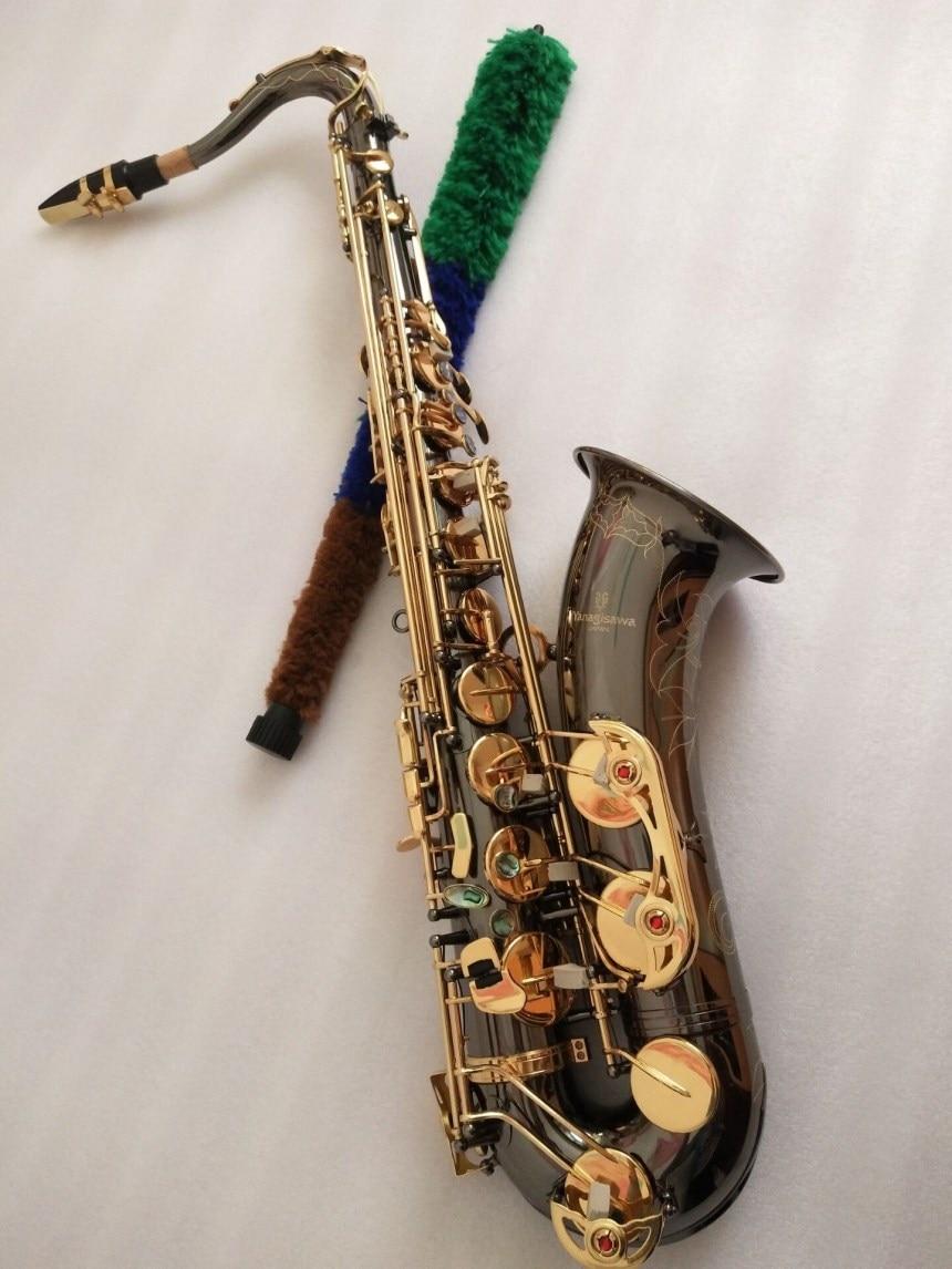 Ténor Saxophone Bb Japon Yanagisawa T-901 modèle Sax Ténor Saxopfone Professionnel instruments de musique avec Embout Cadeau