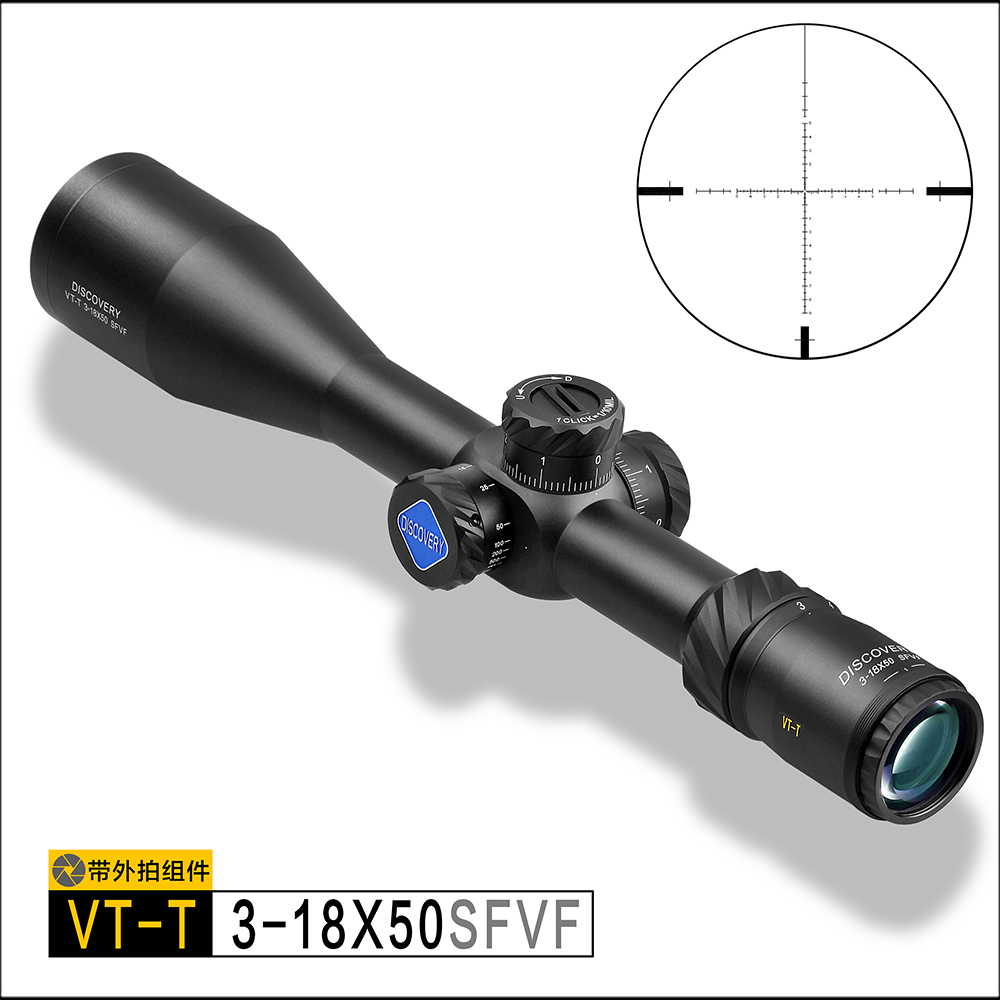 VT-T 3-18X50SFVF Discovery optical gun aiming tactical differentiation air rifle shock and