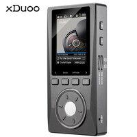Xduoo x10 2.0 Экран HiFi Lossless музыки MP3 плеер 3.5 мм Jack DSD DAC плеер Поддержка TF до 256 г 192 кГц/24bit AIFF APE FLAC