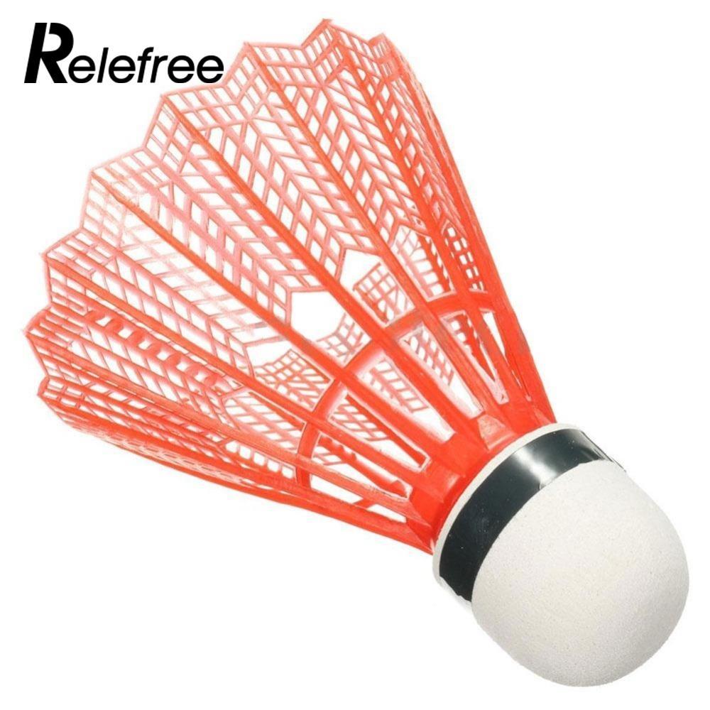 7f317af71b 12 Pçs set Colorido Badminton Peteca De Nylon Acessórios de Fitness Gym Do  Esporte Ao Ar Livre Bolas de Plástico Durável em Peteca de Sports ...