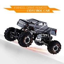 O Envio gratuito de Alta Velocidade mini Carro de Brinquedo 1:24 2098B HBX 4 Wheel Drive Carro 2.4G de Absorção de Estrutura de Metal Melhor Presente para As Crianças