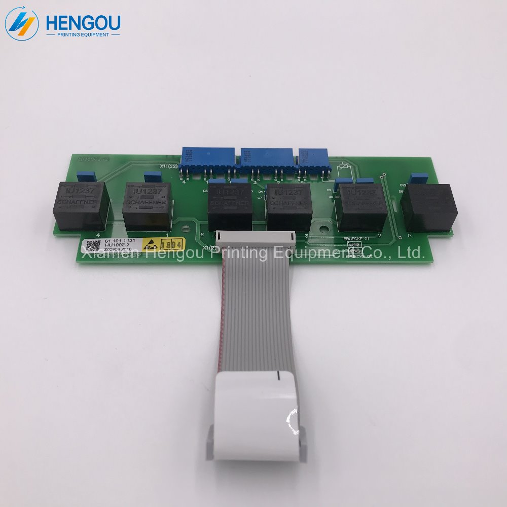 1 piece free shipping Heidelberg machine converter bridge SBM 61.101.1121 S9.101.1121 GNT0131011P5 1 piece free shipping heidelberg connecting part of power converter svt board 91 101 1112 high quality