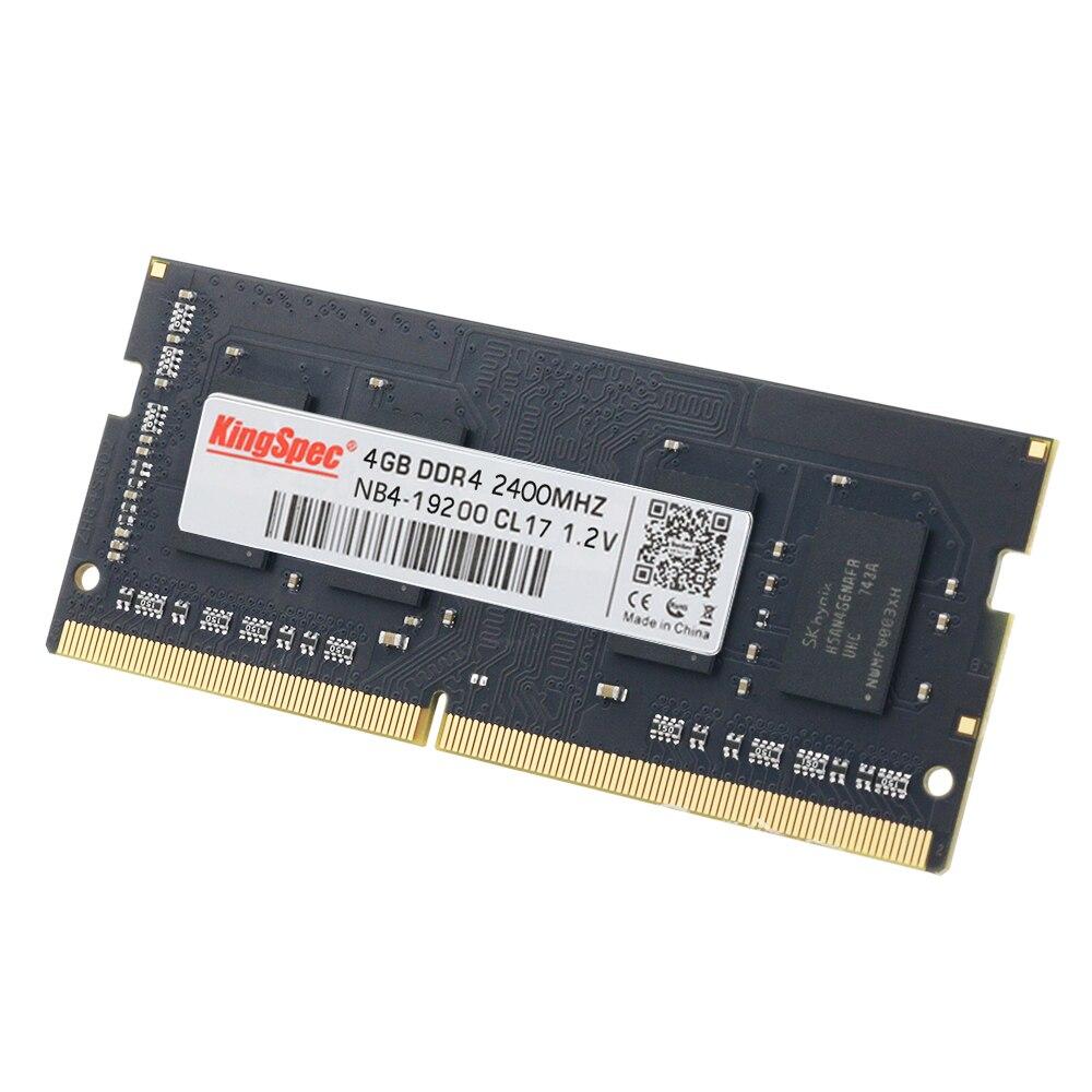2018 KingSpec D'origine 4 gb 8 gb 16 gb Mémoire Ram 2400 mhz PC4-19200 Pour Bureau D'ordinateur Portable De Haute Vitesse RAM livraison Gratuite - 4