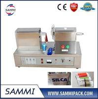 Ultrasonic Plastic Tube Sealer Sealing Machine With The Cutting Printing