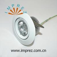 O Envio gratuito de 20 pçs/lote HV AC220 240V 6 W Downlighter regulável Driverless Samsung COB Led Recesso Para Baixo de Iluminação Da Lâmpada Do Teto|light down|hv led|light ceiling light -