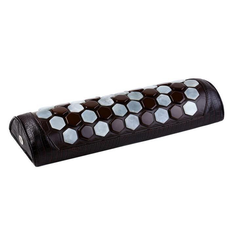 Ms tomalin germanium stone pillow pillow health care physiotherapy pillow improve sleep nerves protect the cervical spine 1 bottle melatonin softgel melatonin soft capsule improve health anti aging protect prostate improving sleep
