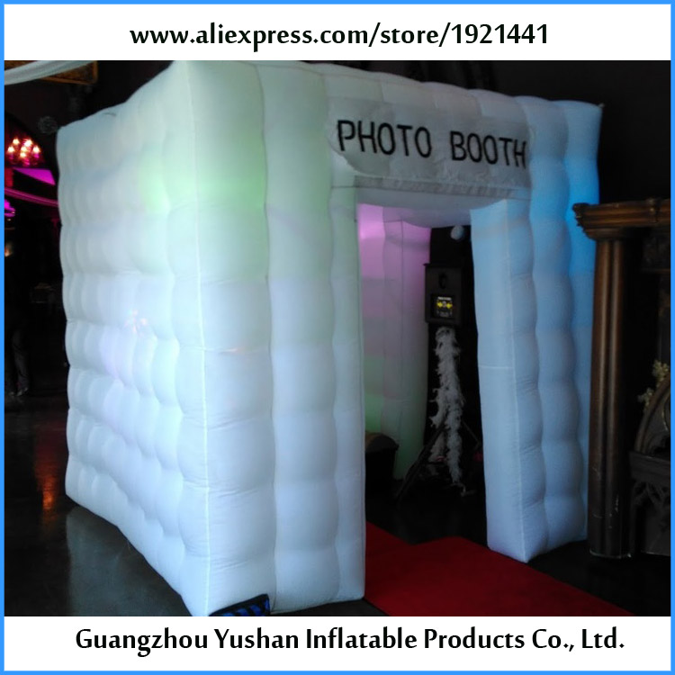2.1*2.1*2.4m small inflatable portable digital photo booth