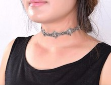 Tibetant Silver Chokers Necklace