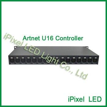 Программируемый высокого качества U16/A16 DMX Вселенной Artnet контроллер для pixel свет