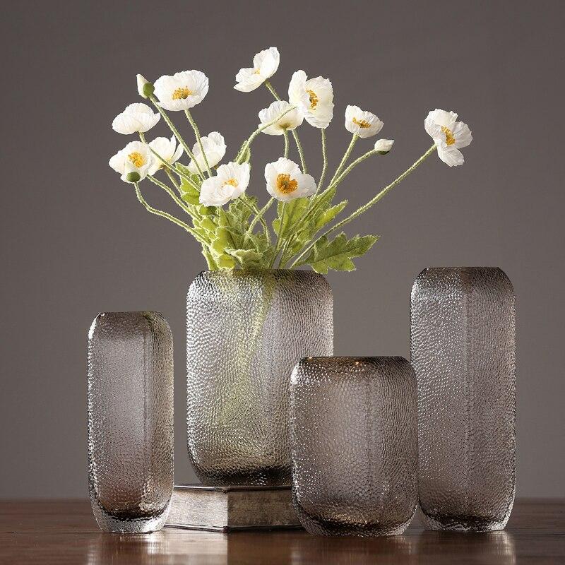 American glass vase Originality Hydroponics Flower glass vases arrangement container Tabletop flowerpo home decoration