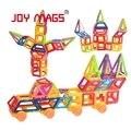 Revistas de alegria brinquedo magnético mini 110/118/130 peças/lote designer de brinquedos educativos de construção magnético blocos de construção de brinquedos diy 3d tijolos